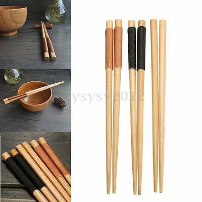 Japanese-Style Short Paragraph Natural Handmade Kamoku Wood Baby Chopsticks