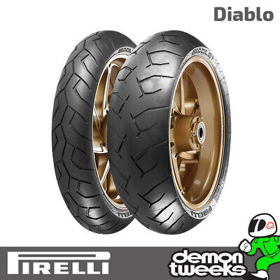 Pirelli Diablo High Performance Rear 180/55 ZR 17 73W Motorcycle/Bike Tyre