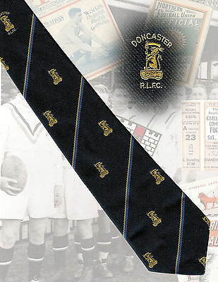 Doncaster RLFC players tie, David Noble - 7.5cm RUGBY LEAGUE TIE