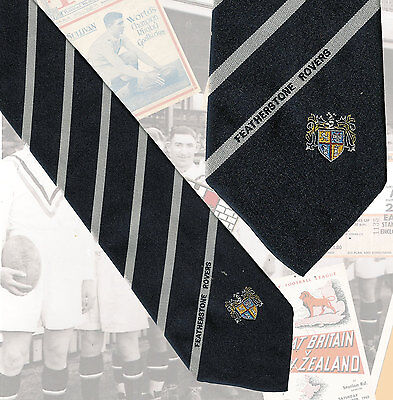 Featherstone Rovers players tie, Paul Newlove - 7.5cm RUGBY LEAGUE TIE