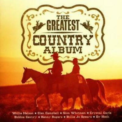 Various Artists : The Greatest Country Album CD (2004)
