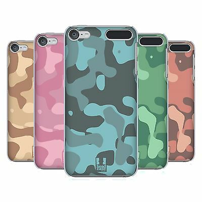 HEAD CASE DESIGNS SOFT CAMOUFLAGE HARD BACK CASE FOR APPLE iPOD TOUCH MP3