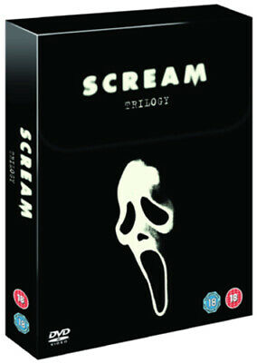 Scream Trilogy DVD (2008) David Arquette, Craven (DIR) cert 18 3 discs