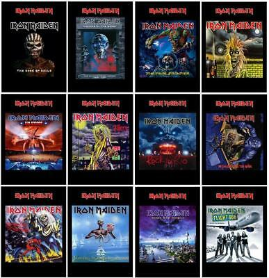 Iron Maiden Cd Albums Covers Non Official Postcards