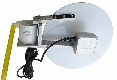 Skimpy 12 Inch Disk Oil Skimmer For Cnc/mills, Lathes