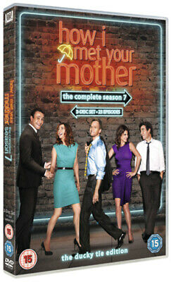 How I Met Your Mother: The Complete Seventh Season DVD (2012) Josh Radnor cert