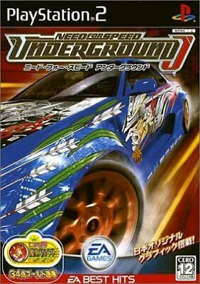 UsedGame PS2 Need for Speed Underground EA Best Hits [Japan Import] FreeShipping