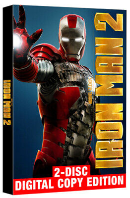 Iron Man 2 DVD (2010) Robert Downey Jr, Favreau (DIR) cert 12 2 discs
