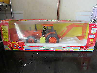 Rare Jouef Group Ros Toys 80803 Tractor Loader + Excavator. Olimpus Turbo New