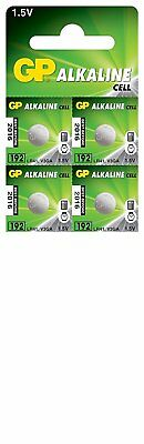 4 x GP LR41 192 1.5V Batteries GP192 AG3 392 SR41