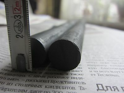2x NOS soviet GRAPHITE, CARBON rod, electrode (18mm x 255mm)! or MORE!