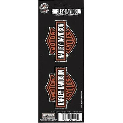 Harley-Davidson Holographic Bar and Shield Decal 2 pc set free shipping
