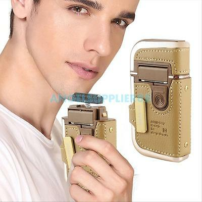 2in1 Men's Electric Rechargeable Shaver Razor Groomer Beard Hair Clipper Trimmer
