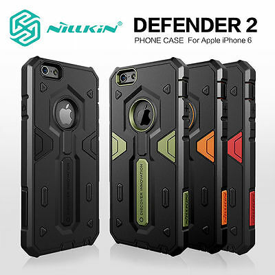 For Apple iPhone 6s 6, 6+, 6S+ Tough Shockproof Armor Hybrid Protective Case