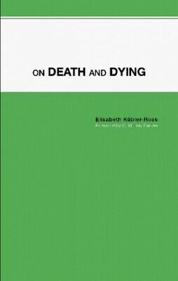 On Death and Dying by K�bler-Ross, Elisabeth Paperback Book The Cheap Fast Free