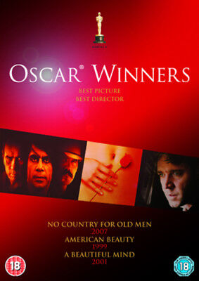 No Country for Old Men/A Beautiful Mind/American Beauty DVD (2013) Tommy Lee