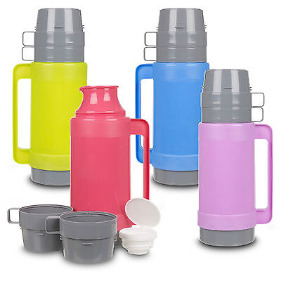 1L Insulated Hot & Cold Food Drink Vacuum Thermos Camping Bottle Mug Lunch Flask