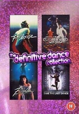 The Definitive Dance Collection DVD (2004) John Travolta, Ross (DIR) cert 18 4