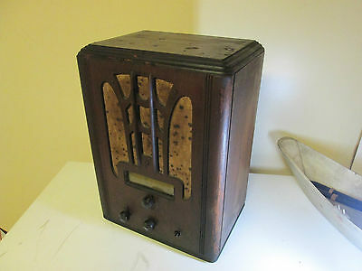 Vintage General Electric Table Top Radio 1940 S Works