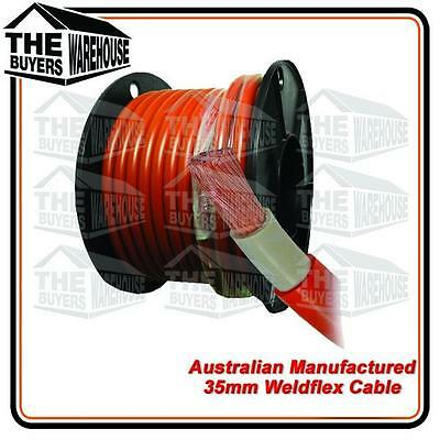 Welding Cable 35mm² 2 Gauge Solar Car Battery Weld Flex Australain Manufactured