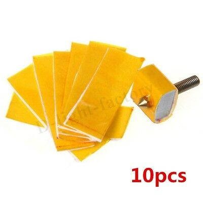 10pc 2.5mm thick 3d printer heating block cotton hotend nozzle heat insulation N