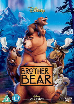 Brother Bear DVD (2004) Aaron Blaise cert U Incredible Value and Free Shipping!