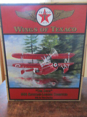 """Wings of Texaco - """"THE DUCK"""" - ERTL Collectibles - 2000 - Airplane Coin Bank"""