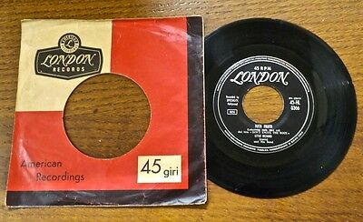 "LITTLE RICHARD Tutti frutti / Long tall Sally  7"" 45 giri orig Italy 1956 London"
