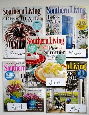 Southern Living magazine February March April May June 2015 You Pick