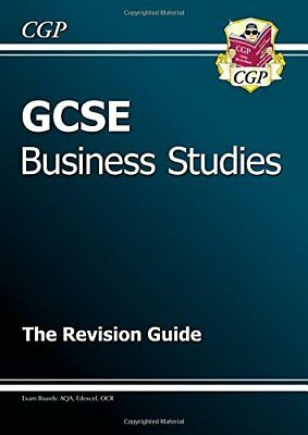 GCSE Business Studies Revision Guide, CGP Books Paperback Book The Cheap Fast