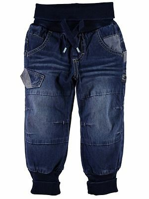 NAME IT lässige Baggy Denim Jeans Hose Ray in blau Größe 74 bis 104