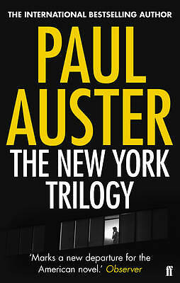 The New York Trilogy by Paul Auster (Paperback, 2011) New Book