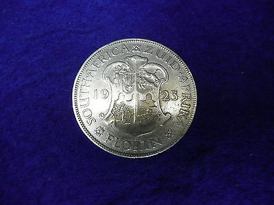 South Africa 1923 silver Florin..2 Shillings