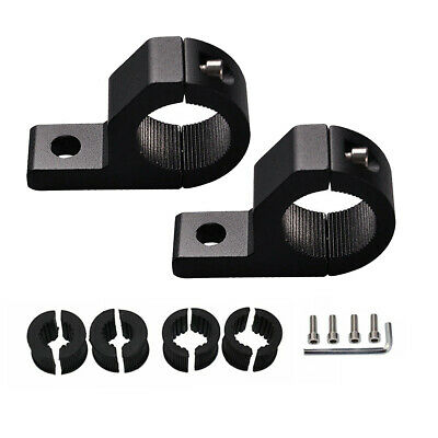 """2X 19 to 25mm 1"""" inch ROLL CAGE MOUNT BRACKET CLAMPS FOR SPOT TUBE LED LIGHT BAR"""