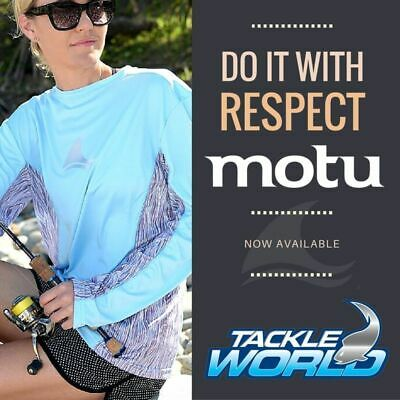 Motu Long Sleeve Fishing Swimming Shirt Sky BRAND NEW at Otto's Tackle World  @