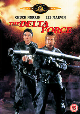 The Delta Force DVD (2000) Chuck Norris