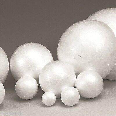 HIGH DENSITY POLYSTYRENE BALLS 50mm 10 pcs