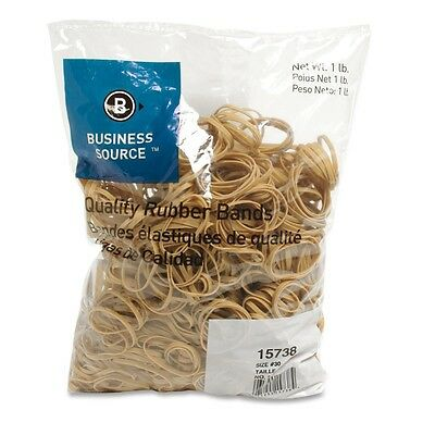"Rubberbands Size 30   2"" x 1/8"" x 1/32"" Business Source BSN 15738  1 lb"