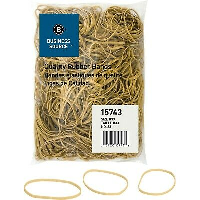 "Rubberbands Size 33 3 1/2"" x 1/8"" x 1/32"" Business Source BSN 15743  5 lb"