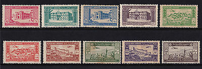 Lebanon - 1944 2nd Anniv of Independance - U/M (faults) - SG 265-74