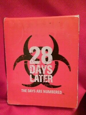 28 Days Later Matchbook. 2002 Movie Promotional Memorabilia. Zombies. Romero
