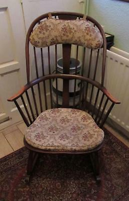 Vintage Ercol Chairmakers Rocking Arm Chair