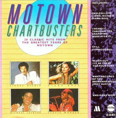 Motown Chartbusters (20 Classic Hits From The Greatest Years Of Motown) CD