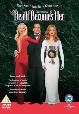 Death Becomes Her DVD (2009) Meryl Streep, Zemeckis (DIR) cert PG Amazing Value
