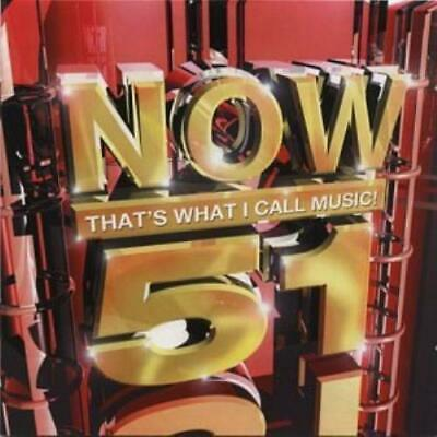 Various Artists : Now Thats What I Call Music! 51 CD FREE Shipping, Save £s