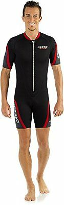 Cressi Playa 2.5mm Mens Front Zip Shorty Wetsuit Large