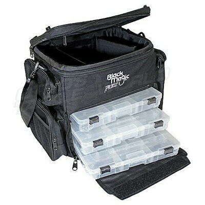 Black Magic Tackle Bag (BMTALT) BRAND NEW at Otto's Tackle World Drummoyne