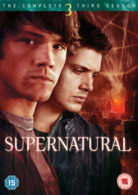Supernatural: The Complete Third Season DVD (2008) Jared Padalecki cert 15 5