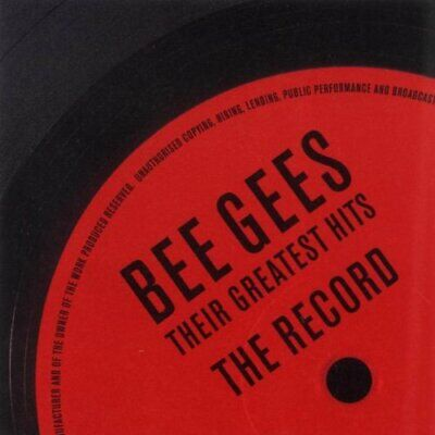 bee gees : The Record - Their Greatest Hits CD Expertly Refurbished Product