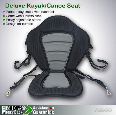 New & Adjustable Deluxe Kayak Sit on top fishing seat  AQUOS